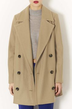 Classic fall peacoat {to die for}