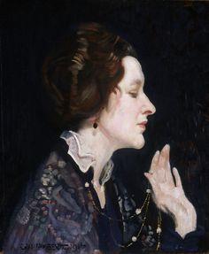 George Washington Lambert, Portrait of a Lady (Thea Proctor) (1916)
