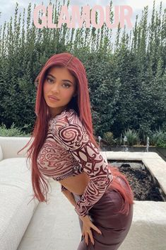 Kylie Jenner Outfits, Kylie Jenner Red Hair, Ropa Kylie Jenner, Kily Jenner, Kylie Jenner Photoshoot, Kylie Jenner News, Trajes Kylie Jenner, Estilo Kylie Jenner, Kylie Jenner Style