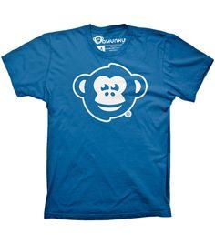 OMUNKY Logo (Royal Blue) - I love this shirt. Plain and simple!