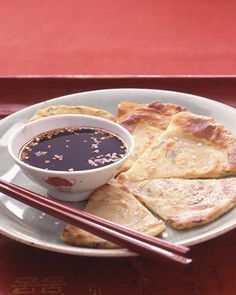 Scallion Pancakes - This could be made GF by subbing a good GF flour mix like Better Batter and ensuring you use a GF soy sauce (or better yet coconut aminos).