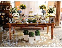 As melhores tendências em decoração de casamento para 2015 | Irock News | IROCK - maison & buffet