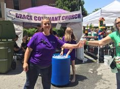 Thanks @gracecovenantchurch for the FREE Water!