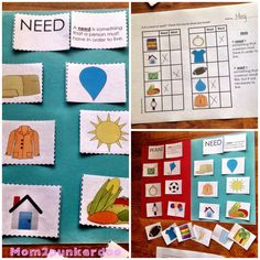 Use these hands on sorting activities to teach needs and wants to your students. Perfect for teaching personal financial literacy, Kindergarten Science Activities, Kindergarten Social Studies, Social Studies Classroom, Sorting Activities, Kindergarten Lessons, Teaching Social Studies, Preschool Curriculum, Math Classroom, Teaching Kids