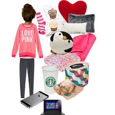 Designer Clothes, Shoes & Bags for Women Lazy College Outfit, Cute Lazy Outfits, Casual Winter Outfits, Outfits For Teens, Fall Outfits, Sick Day Outfit, Outfit Of The Day, Lounge Outfit, Lounge Wear