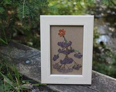 Connect to nature through dried flower art by afloristsdaughter Create Yourself, Finding Yourself, How To Preserve Flowers, Natural Wonders, Dried Flowers, Flower Art, Floral Arrangements, Etsy Seller, Lily