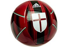 adidas AC Milan Soccer Ball - Victory Red...get it at SoccerPro now!
