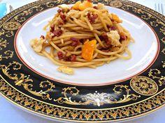 Espaguetis con salsa de soja                                                                                                                                                      Más