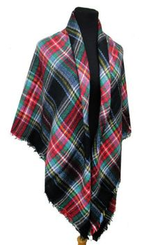 This gorgeous oversized Blanket Scarf is the perfect accessory for Fall & Winter. It features a pretty plaid print that comes in many different colors, you are sure to find one you love! These are lar
