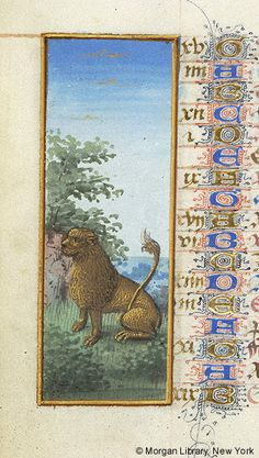 Leo | Book of Hours | France, Angers | between 1465 and 1470 | The Morgan Library & Museum