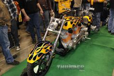 """Double Engine from """"Crazy John"""" in East Bethel, MN at the 2014 Donnie Smith Bike & Car Show."""