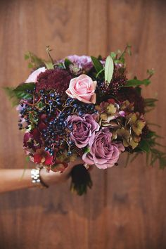 Dusty lilac and pink hand tied wedding bouquet, Trudi Todd Creative Wedding Florist, WEST on the Green, Glasgow, Scotland