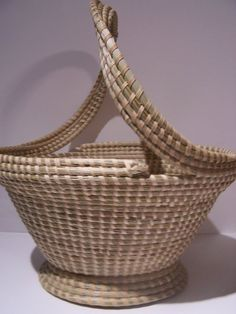 Corey Alston Sweetgrass Basket
