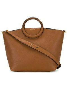 MICHAEL MICHAEL KORS chunky handle tote bag. #michaelmichaelkors #bags #leather #hand bags #tote #