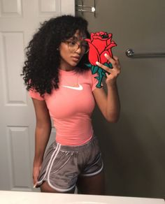Everything About Black Women Lazy Day Outfits, Chill Outfits, Sporty Outfits, Swag Outfits, Cute Outfits, Fashion Outfits, Runway Fashion, Summer Outfits, Gym Fashion