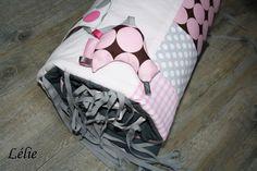 Tour de lit personnalisé sur commande Coton Rose pâle