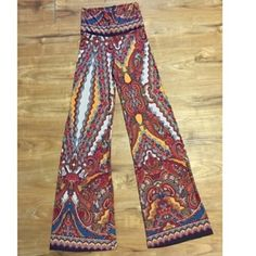 Wide leg palazzo pant Super cute re-posh as these are too small on me  Pants