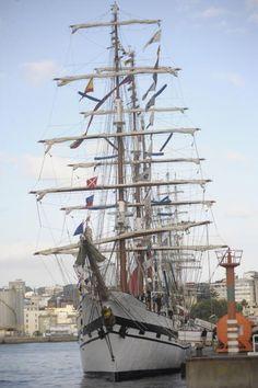 La regata de grandes veleros ensaya su operativo de seguridad - La Opinión A…