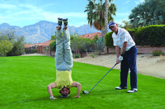 Have you participated in one of The Views Golf Club Golf & Giggle tournaments? Good times, silliness and lots of fun guaranteed!