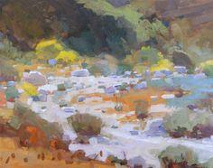 Daniel Aldana. Bend in the Wash. 11 x 14