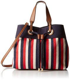 bb2fa04ed403 Tommy Hilfiger Women s Corinne - Canvas Shopper Black Khaki Handbag   Handbags  Amazon.com. Canvas Shopper BagCanvas Tote BagsTommy ...
