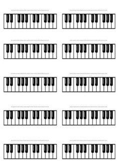 Adriano Dozol - Dicas, Partituras Grátis e Vídeos - Teclado | Piano: Desenho do teclado musical para formar acordes. Baixar grátis.