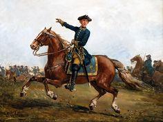 A Swedish Carolean cavalry, Great Northern War
