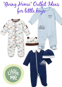 """""""Going Home"""" Outfit Ideas for Little Boys from Little Me"""