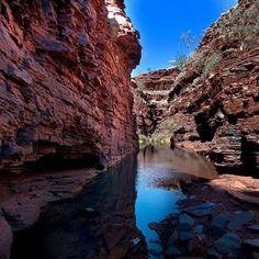 Amazing #red cliffs of Karajini #NationalPark in #WesternAustralia. Love this shot by @keith henley! - Photo by seeaustralia