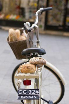#bicyclette et pain...
