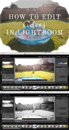 How to edit videos in Lightroom   Lightroom Editing Tutorial by Brit Chandler   britchandler.com