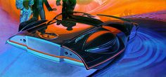 A car by Syd Mead (by x-ray delta one)