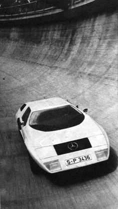 Incredibly beautiful...1969 Mercedes C-111 I wonder if they were ever built...