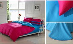 Bright Colored Bed Sheets For Girls Room!