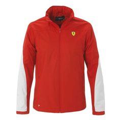 Men's Ferrari Shield Jacket #ferrari #ferraristore #jacket #cavallinorampante #prancinghorse #red #rossoferrari #maranellored #gp #racing #style #cool #ss2014 #springsummer2014
