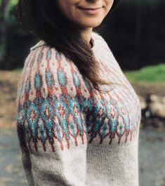 Norwegian Knitting, Fair Isles, Fair Isle Pattern, Knit Sweaters, Knit Tops, Fair Isle Knitting, Sweater Design, Fall 2018, Needlework