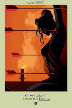 Toutes les morts de Game Of Thrones dans de superbes illustrations