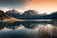 Schwarzsee by Franz Engels; lake with surrounding landscape, Landscape Photos, Landscape Photography, Nature Photography, Indian Summer, Magic Places, World's Biggest, Cool Landscapes, Lake Life, Wonderful Places