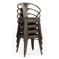 Shop for Vintage Tabouret Stacking Chairs (Set of 4). Get free shipping at Overstock.com - Your Online Furniture Outlet Store! Get 5% in rewards with Club O! - 14366775