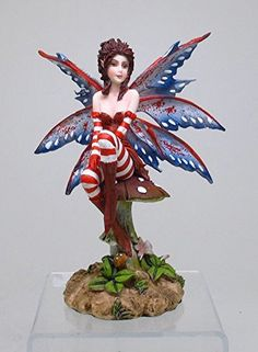 Figurine: The Brat Fairy by Amy Brown - Baby Feathers