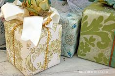 ZsaZsa Bellagio – Like No Other: Gift Wrapping Ideas