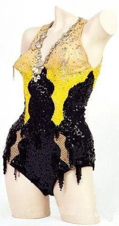 "Marilyn's costume from ""Gentlemen Prefer Blondes"""