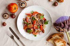 Food: Panzanella Salad - Get the full Recipe on my blog: http://www.moodforstyle.de/food-panzanella-salad/