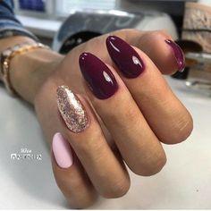 Semi-permanent varnish, false nails, patches: which manicure to choose? - My Nails Fancy Nails, Love Nails, Pink Nails, Gel Nails, Purple Nail Polish, Cute Acrylic Nails, Acrylic Nail Designs, Stylish Nails, Trendy Nails