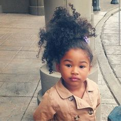 In terms of cute hairstyles for little girls, parents should know their options are endless. Mothers, in particular, love to style their daughters' hair and Cute Black Babies, Beautiful Black Babies, Beautiful Children, Cute Babies, Black Kids, My Hairstyle, Cute Hairstyles, Black Baby Hairstyles, 1950s Hairstyles