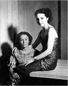 Anais Nin and Helba More, wife of Gonzalo More, c 1937