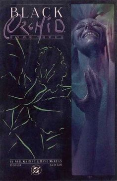 Black Orchid Book 3 - Neil Gaiman and Dave McKean Neil Gaiman, Comic Book Artists, Comic Books, Dave Mckean, Vertigo Comics, Brazil Travel, Black Orchid, Comic Covers, Character Concept