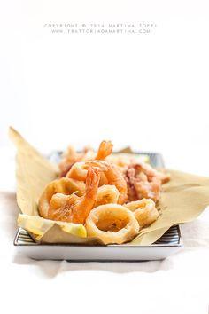 Trattoria da Martina - cucina tradizionale, regionale ed etnica: Fritto di calamari e code di gambero | trattoriadamartina |