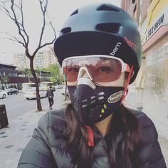 Catholic School Uniforms, Scuba Diving Pictures, Diy Face Mask, Face Masks, Winter Cycling, Half Mask, Mask Girl, Halloween Masks, Jennifer Aniston