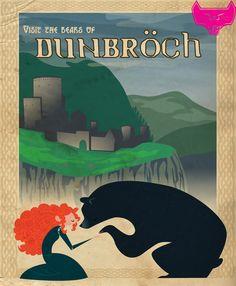 kathudsonart:Disney Travel Posters- get prints in my Society6 shop!http://society6.com/spicysteweddemon/prints?show=new